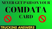 How To Get Paid with a Comdata Payroll Card - YouTube