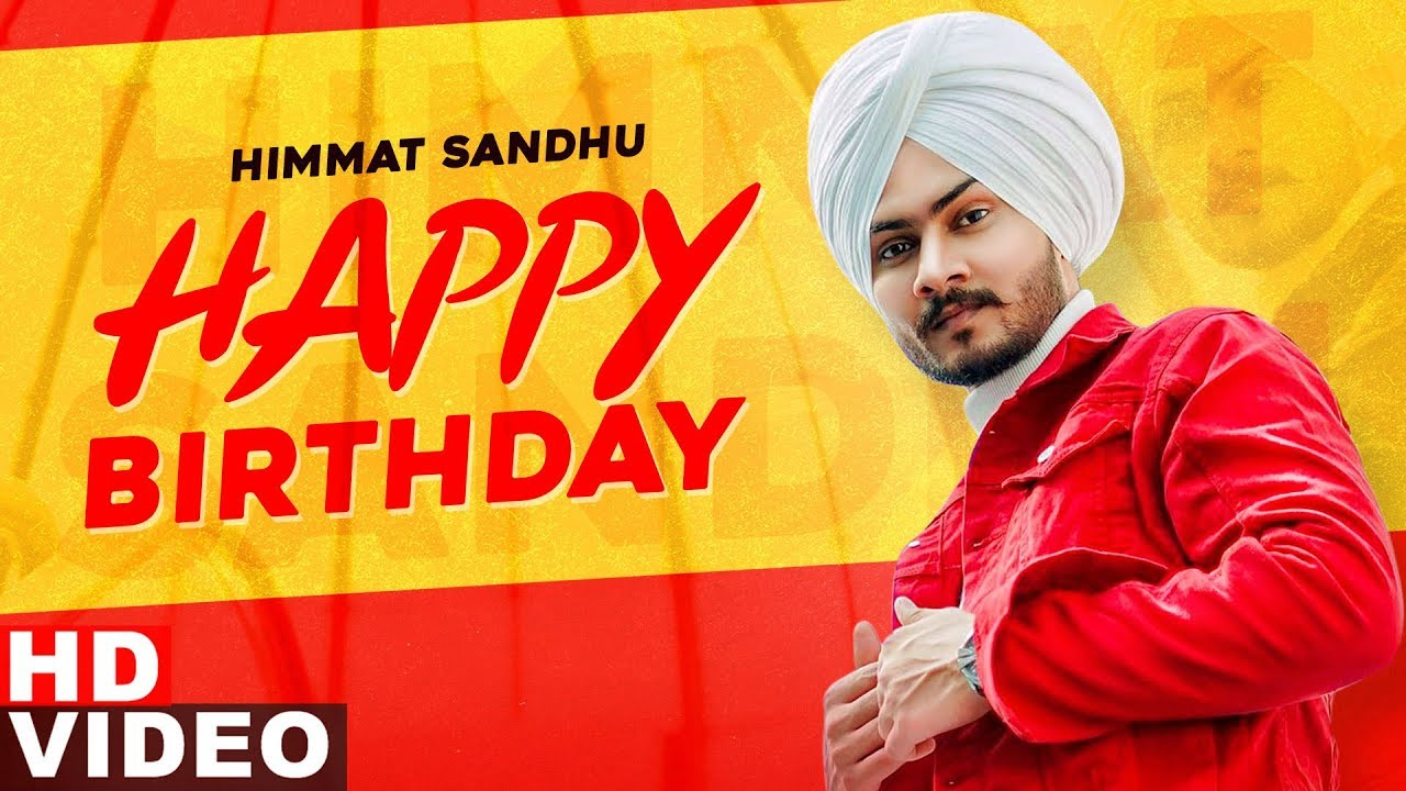Birthday Wish | Himmat Sandhu | Birthday Special | Latest Punjabi Songs 2020 | Speed Records