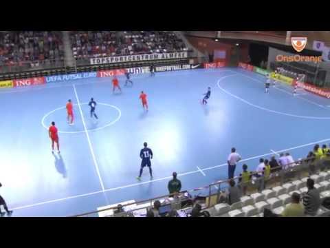 Futsal Highlights Netherlands - Bosnia - Final Qualification game