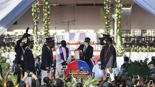Début des funérailles nationales du président assassiné Jovenel Moïse