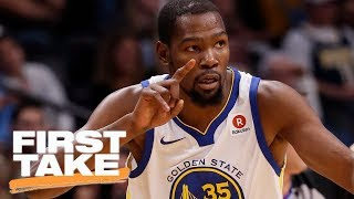 First Take debates whether Warriors need Kevin Durant to win championship | First Take | ESPN thumbnail