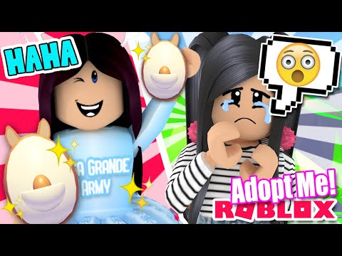 LISA GRANDE STOLE My AUSSIE Egg 😲 Adopt Me ROBLOX Roleplay