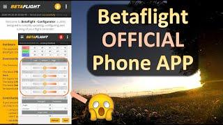 Betaflight Configurator Phone APP