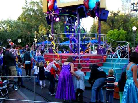 """Disneyland Parade - """"Celebrate! A Street Party"""" Part 2 of ..."""