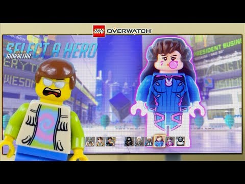 LEGO Overwatch Gameplay STOP MOTION LEGO Overwatch: D.Va Solo Match | LEGO Overwatch | Billy Bricks thumbnail