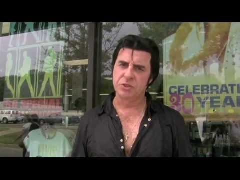 Elvis Tribute Artist Lou Jordan interviewed for documentary '816' (video)