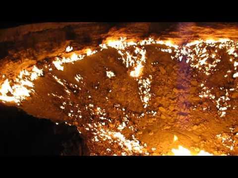 Derweze Gas Crater Turkmenistan