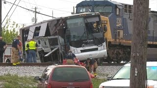 New details of the deadly collision between a freight train and tour bus in Biloxi, Mississippi