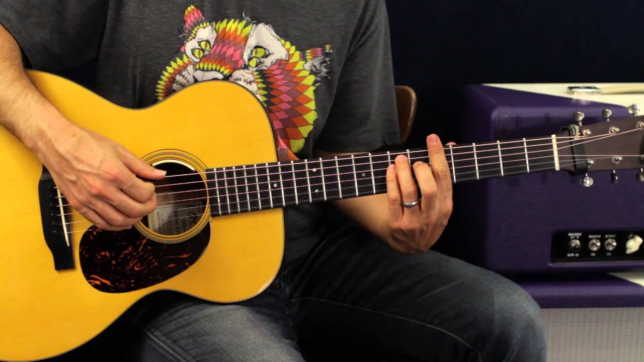 How To Play - Girl Crush by Little Big Town - Acoustic ...
