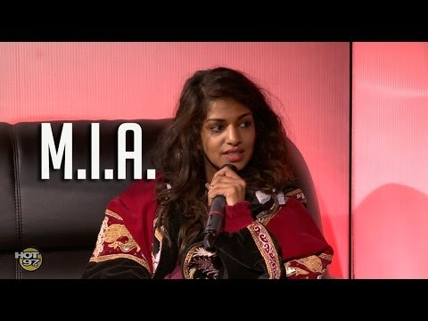 M.I.A. talks Super Bowl, Versace, Separation from fiance & Paper Planes Lyrics!