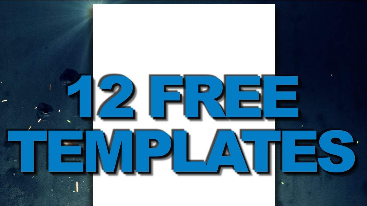 Free youtube 2012 channel background templates for Free youtube templates