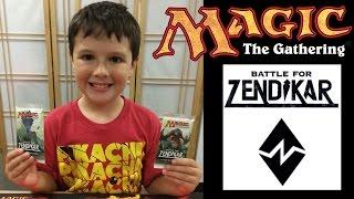 MTG Battle for Zendikar Prerelease - Two Pack Opening