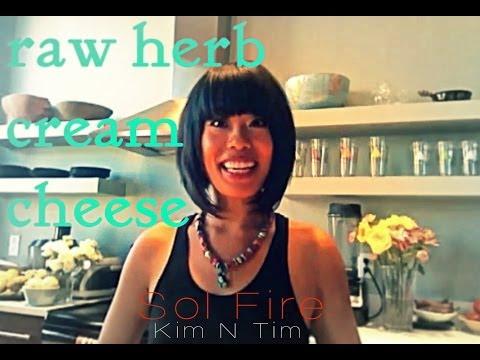 5 Minute Raw Herb Cream Cheese: Delicious, Vegan, Raw, & Gluten-free!