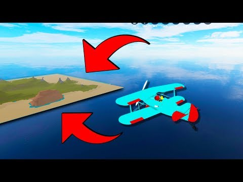 FLYING PLANE to NEW HIDDEN ISLAND in VEHICLE SIMULATOR .. (Roblox)