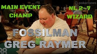 WSOP Main Event Champion Greg Raymer on Poker's Purest Form