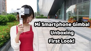 Xiaomi Mijia Smartphone Gimbal Unboxing & First Look! #SamiLuo