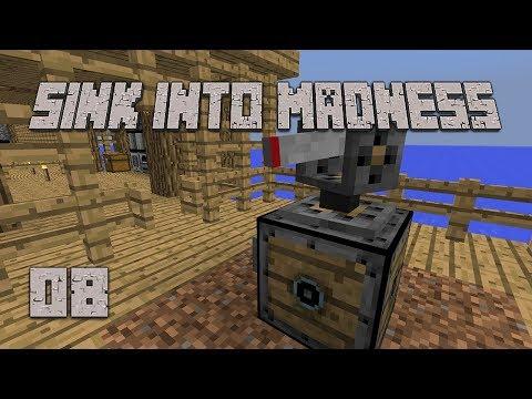 ►POTATO SAVIOR! | Sink Into Madness #8 | Modded Minecraft◄