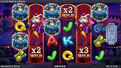 Respin Circus Online Casino Slot Free Spins Bonus Game Huge Win!