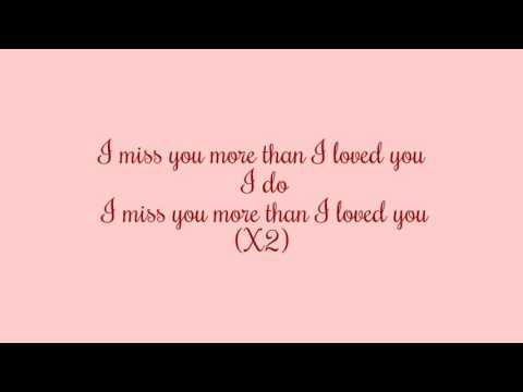 Miss You More- Katy Perry w/lyrics
