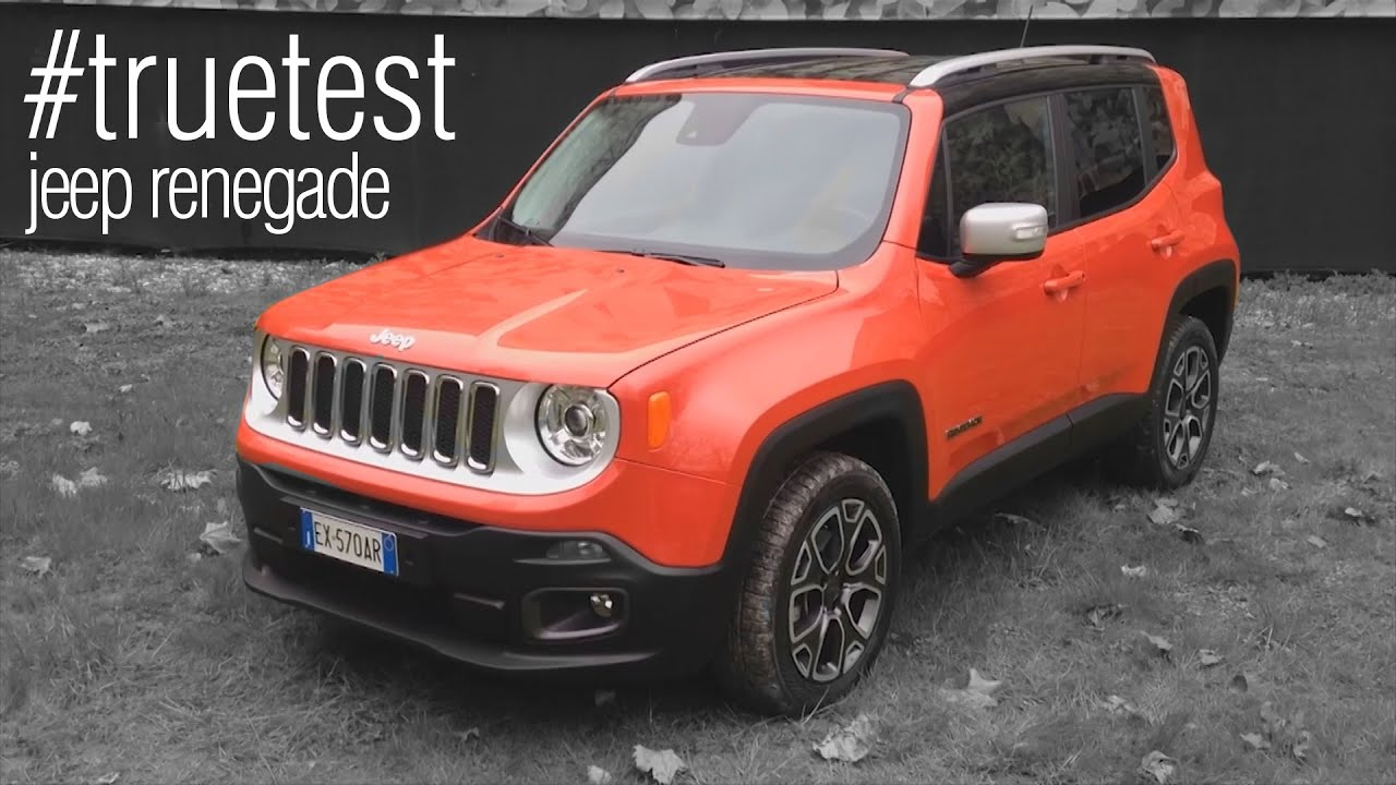 jeep renegade 2016 test drive la prova su strada truetest youtube. Black Bedroom Furniture Sets. Home Design Ideas