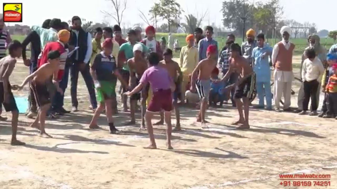 MADPUR (Ludhiana) KABADDI CUP - 2015 || NATIONAL STYLE 28Kgs. || Full HD || Part 3rd.