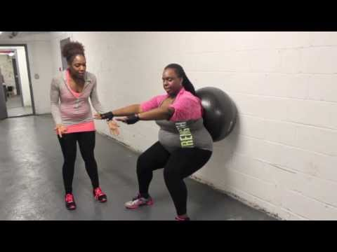 How Can I Do Squats with Bad Knees? | Plus Size Workouts | Weight Loss | Healthy Curves