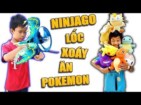 Tony | Trò Chơi Ninja Săn Thú Nhồi Bông - Ninjago Get Pokemon