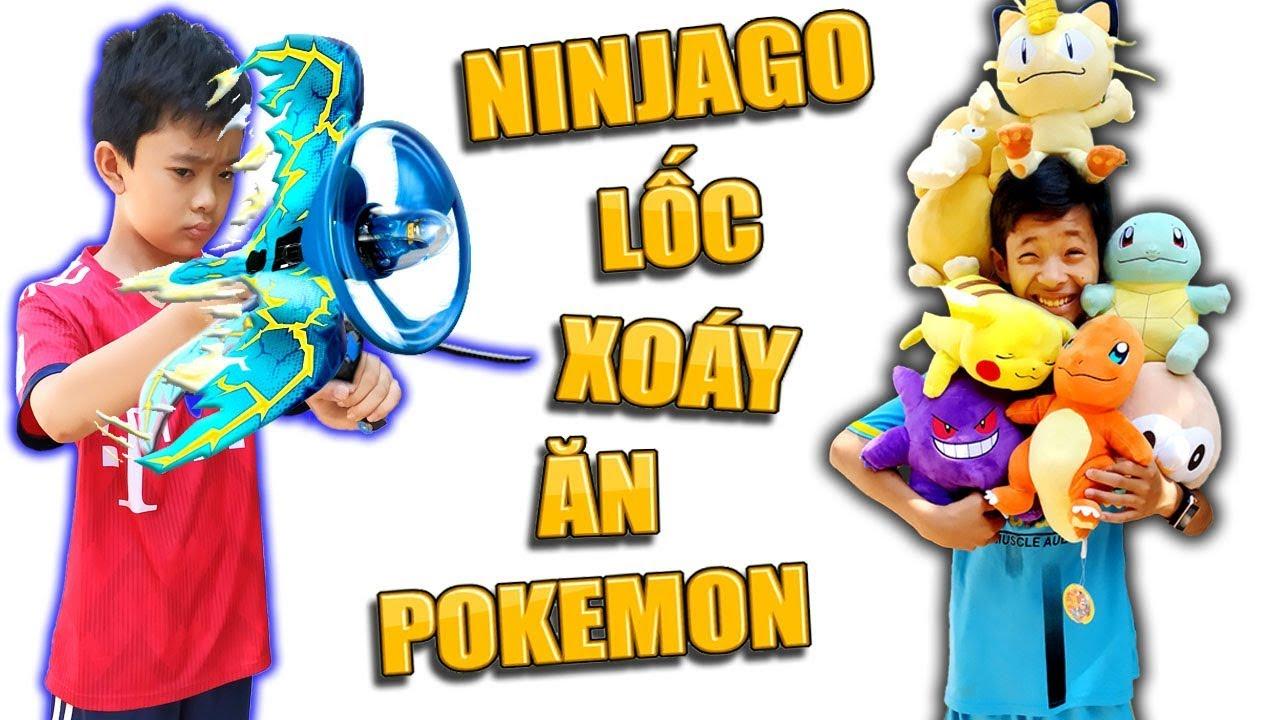Tony | Trò Chơi Ninja Săn Thú Nhồi Bông – Ninjago Get Pokemon