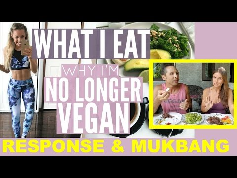 SARAHS DAY Why I'm No Longer Vegan | RESPONSE + MUKBANG