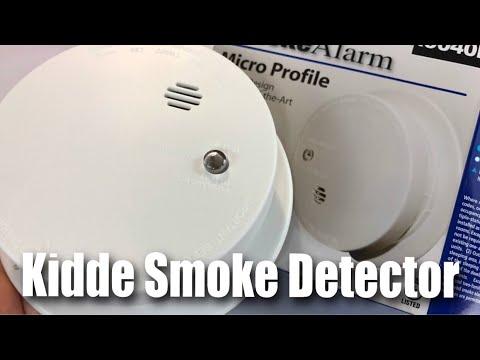 Kidde I9040 Fire Sentry Battery Operated Ionization Sensor Compact