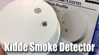 Kidde i9040 Fire Sentry Battery-Operated Ionization Sensor Compact Smoke Alarm