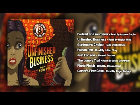 8 Tales Of The Unexpected - Unfinished Business (Full Audio Book)