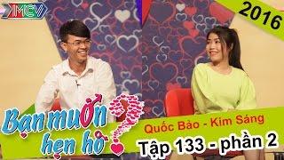 Thành công mai mối cho cặp đôi trai tài gái sắc | Quốc Bảo - Kim Sáng | BMHH 133