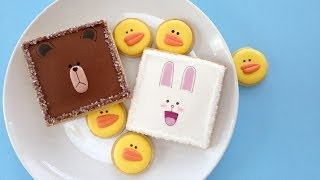How To Decorate Line Cookies With Royal Icing!