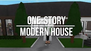 roblox bloxburg modern story welcome build aesthetic