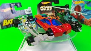 HOT WHEELS SNOW SURPRISE  LUCKY DIP TOP TOYS Inc., BATMAN, SPIDER-MAN & STAR WARS