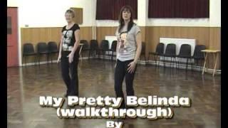 My Pretty Belinda (linedance & walkthrough).avi