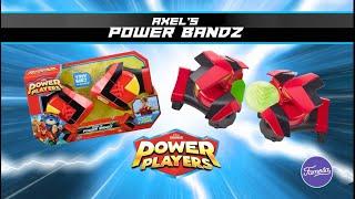 POWER PLAYERS Figuras y Moto + Power Bandz