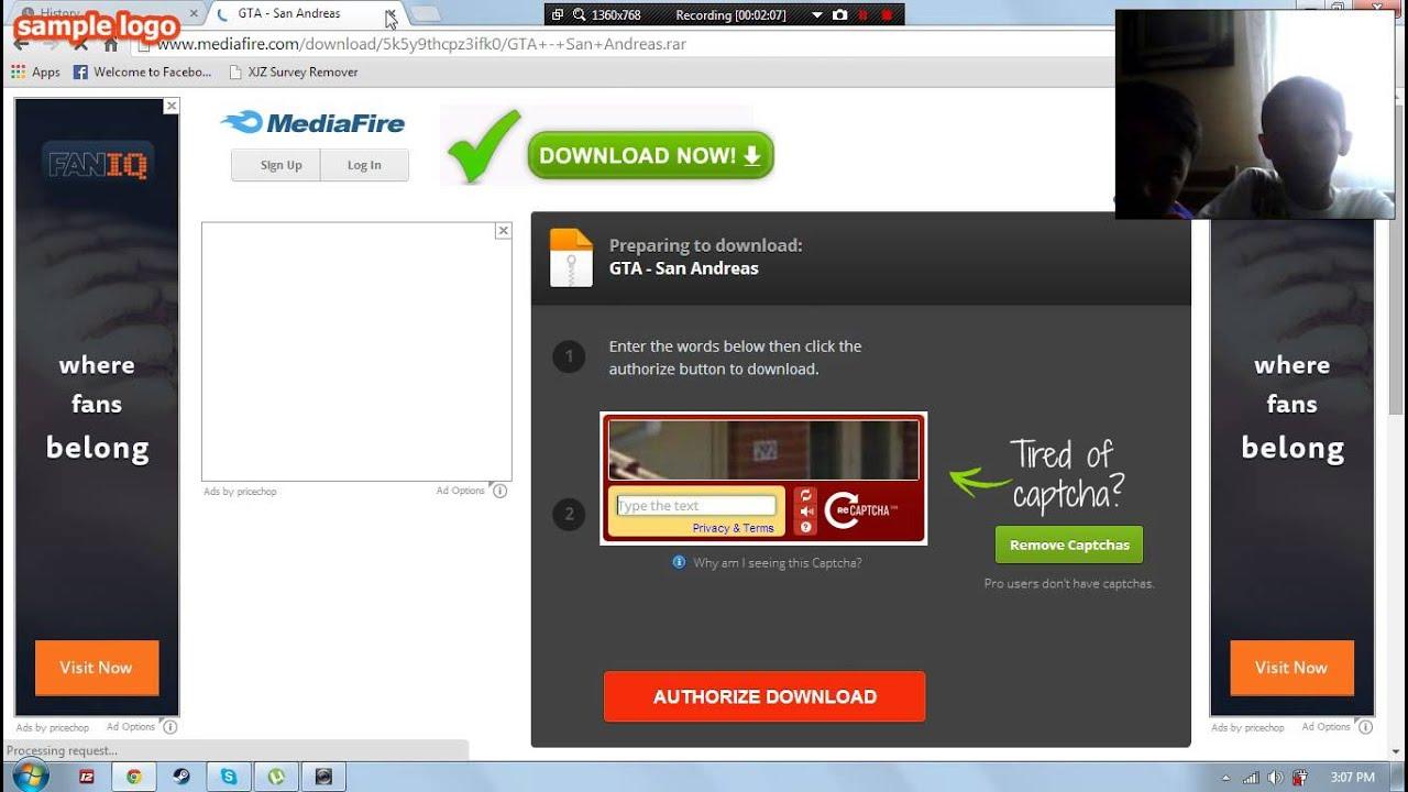 www.mediafıre.com download gta san andreas