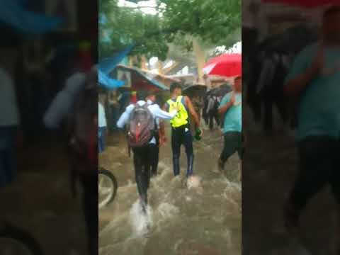 Santacruz West Mumbai heavy Rains....