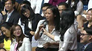 Suboi hát rap cho tổng thống Obama ( bản dịch Tiếng Việt)