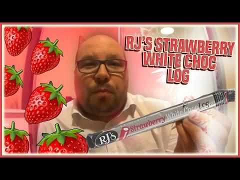 RJ's Strawberry White Chocolate Log Review