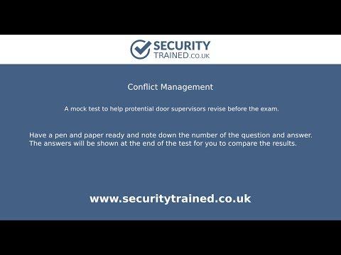 Conflict Management | Mock Test