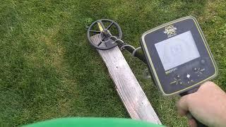 White's MX Sport Metal Detector VDI Readings with New York Metal Detecting