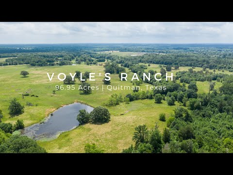 Land Lakes Fishing Hunting Grazing Land For Sale East Texas | Quitman Wood County | Voyles Land