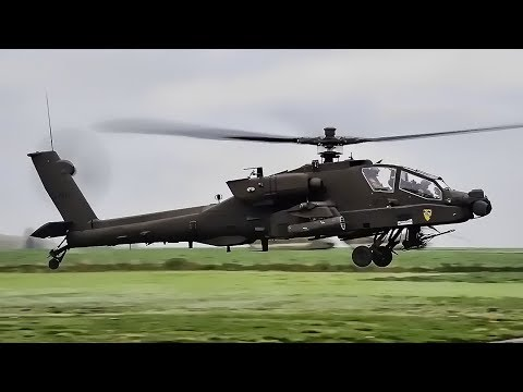 U.S. Army Helicopters Staged For Massive Move In Europe