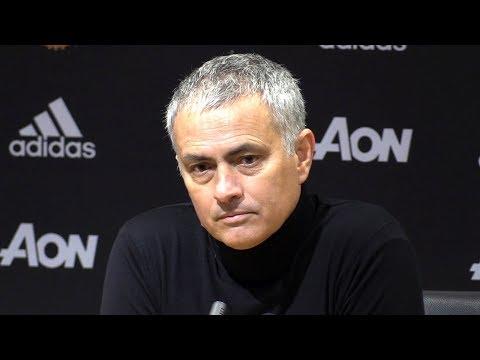 Manchester United 1-0 Brighton - Jose Mourinho Post Match Press Conference - Premier League #MUNBRI