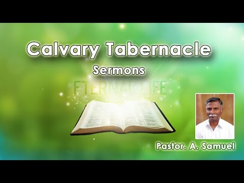 Nevertheless At Thy Word I Will Let Down The Net | Pastor. Samuel. A | Chennai
