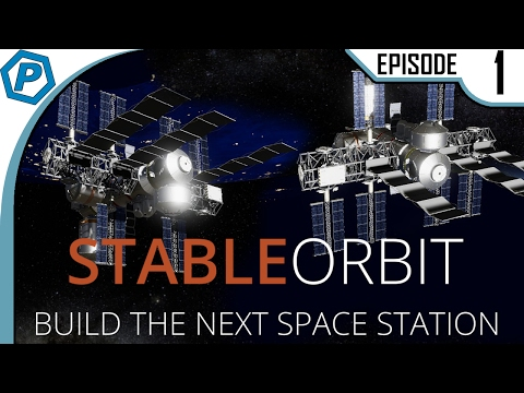 Starter Space Station | Stable orbit | Lets Try | #1