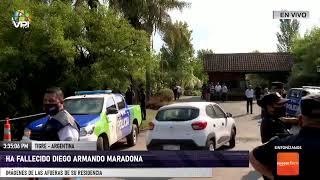 En Vivo desde Argentina - Ha fallecido Diego Armando Maradona